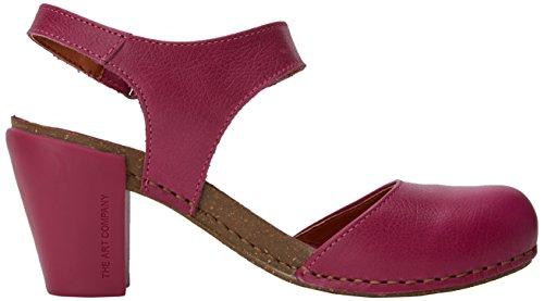 magenta Sandaalit Art Memphis Vaaleanpunainen Naisten Avoin Tunnen 1281 Magenta nxqX0OBq