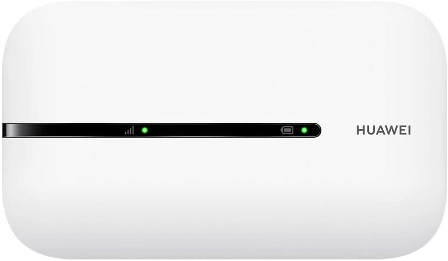 HUAWEI 4G Mobile WiFi - Mobile WiFi 4G LTE (CAT4) Piunto de Acceso, Velocidad de Descarga de hasta 150Mbps, Batería Recargable de 1500mAh, No se Requiere configuración, Wi-Fi portátil