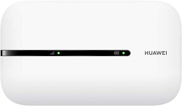 HUAWEI Mobile WiFi E5576 - Router WiFi móvil 4G LTE (CAT4) con punto de acceso, Velocidad de descarga de hasta 150Mbps, Batería recargable de 1500mAh, ...