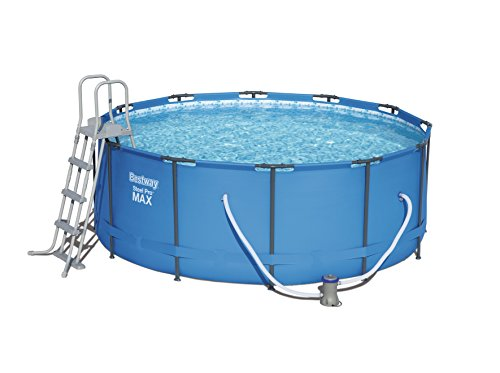 Bestway Steel Pro MAX Swimming Pool Set, 10250 Liters, Blue, 12 ft x...