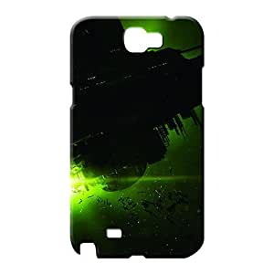 samsung note 2 case dirt-proof Protective Cases phone cover skin alien isolation