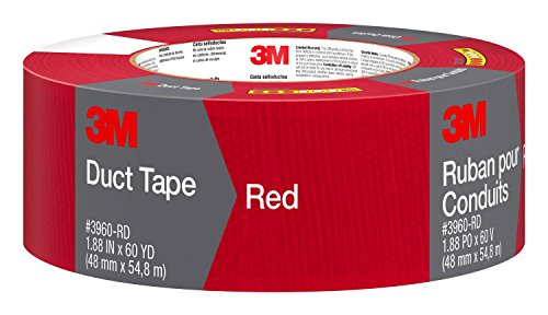 3M 3960-RD Red Duct Tape, 1.88 Inches by 60 -