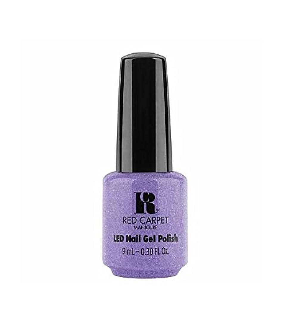 海洋の比喩アルコーブRed Carpet Manicure LED Gel Polish - Flirting With Fringe - 9 ml / 0.30 oz
