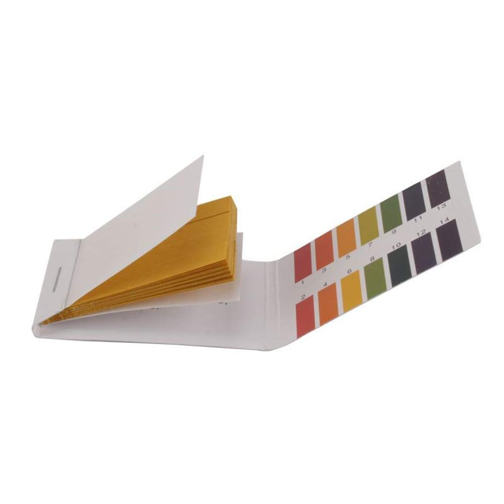 Tcplyn 1 Pcs PH Test Paper Universal Litmus Indicator Paper for Testing Soil Aquarium Pond Everyday Substances