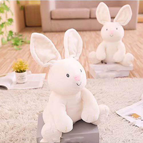 (Wffo Cute Music Bunny Animated Plush Stuffed Animal Toy Home Decor)