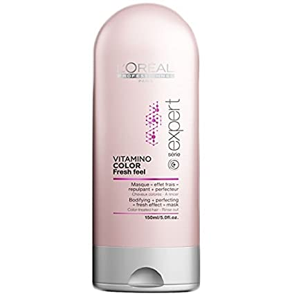 LOréal Professionnel Vitamino Color Fresh Feel Bodifying - Mascarilla de cabello, ...