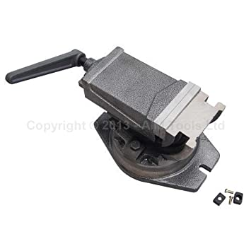 KATSU Tools 4021574 Precision Tilting Swivel Base Machine Milling Pilar Drill Vice 100MM 4'