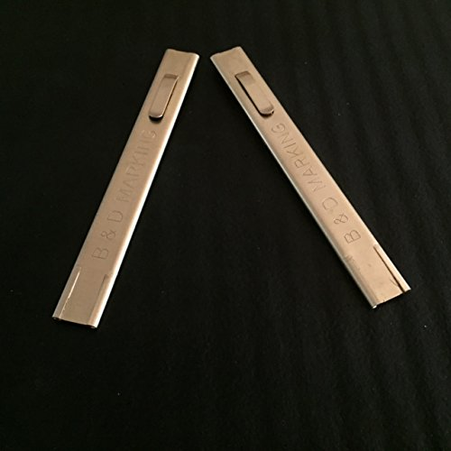 2 Brass Holders for Thin and Medium Marking Soapstone (Universal 1/32