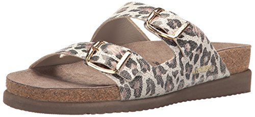 Mephisto Women's Harmony Slide Sandal, Light Sand Oldleo, 9 M US by Mephisto