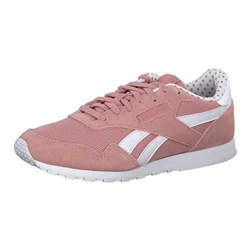 Reebok Royal Ultra SL, Baskets Femme Rose (Chalk Pink/white)