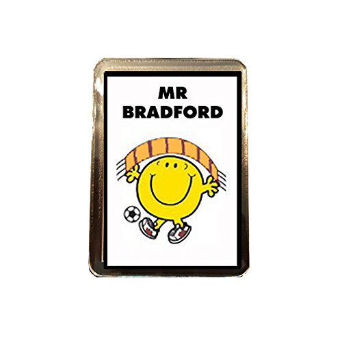 Bradford City F.C - Mr Football Fridge Magnet
