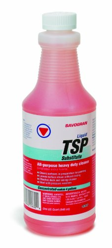 Savogran 10632 Liquid TSP Substitute Cleaner, Quart