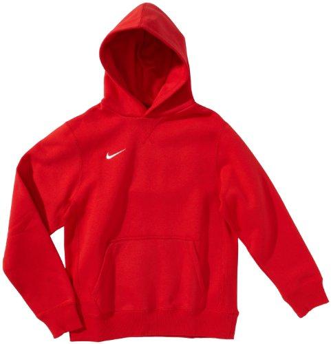 sports shoes ee75f 9ebbd Nike Fleece Core Boys' Fleece Hoodie Team Sport Red ...