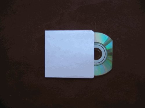 BUSINESS CARD CD (HANDI CD)TYVEK SLEEVE, 61X80MM, JS280BIZCARD, 200 PCS