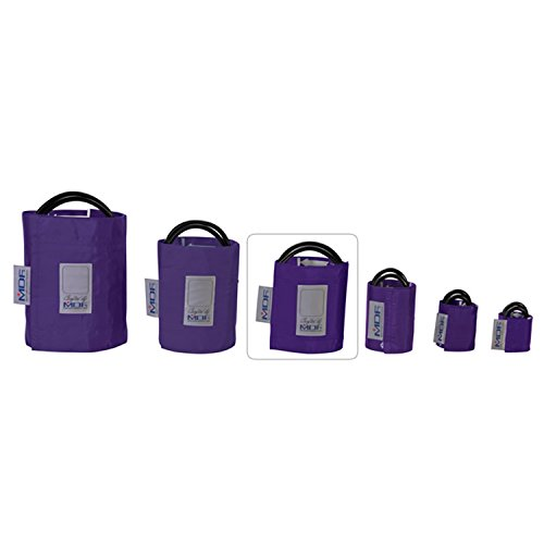 MDF® Latex-Free Adult Replacement Blood Pressure Monitor Cuff - Double Tube - Purple (MDF2100450-08)