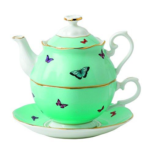 Royal Albert 40025887 Miranda Kerr Blessings Tea for One, 3 piece set, Multicolor (Royal Gifts Albert)
