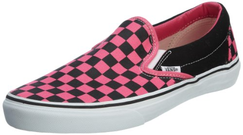 Baskets Mixte Adulte on Mode black Checkerboard U Pink Classic fandango Vans Noir Slip xwgAYqcI