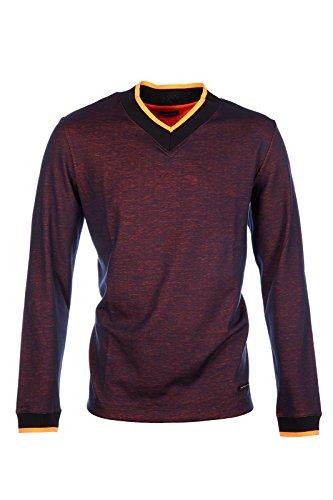 dirk-bikkembergs-mens-long-sleeve-t-shirt-v-neck-neckline-fluo-logo-blu-us-size-xxl-us-44-c2db717631