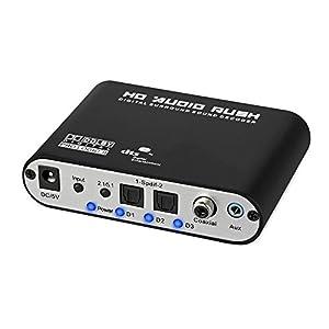 Digital audio out optical переходник на тюльпан 5.1