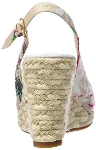 Wrangler Brava Chan Canvas - Sandalias Mujer Taupe