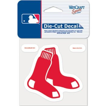 WinCraft Boston Red Sox Die-Cut Decal - 8