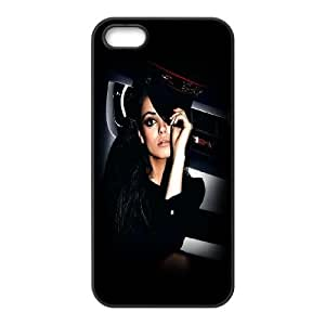 iPhone 5 5s Cell Phone Case Black Mila Kunis Look Dsfxz