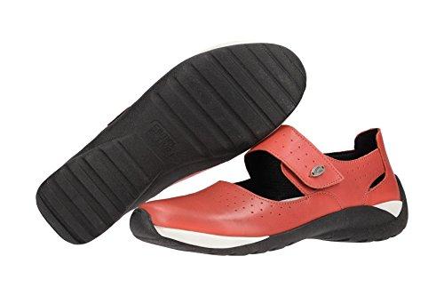 Mujeres Zapatos Rojo 74 corall camel active 02 Rojo corall Llanos 844 5E6fOBnqx
