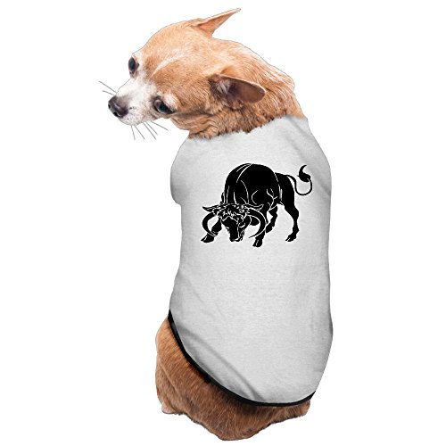 Taurus Zodiac Sign The Bull Dog Coats Hoodie Cozy Pet Clothes