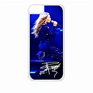 linJUN FENGBoyonce - autograph - Hard White Plastic Snap - On Case with Soft Black Rubber Lining-Apple Iphone 5c Only - Great Quality!