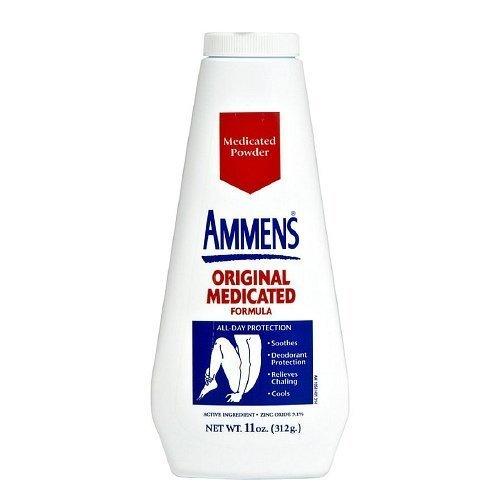 - Ammens Medicated Powder, Original Formula - 11 OZ (3 pack) by EDELLE LABS LTD BEAUTY