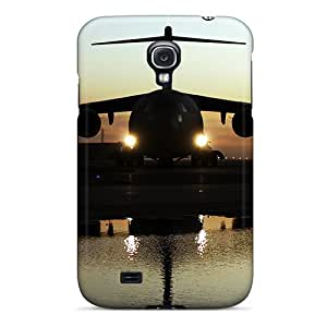 Hard Plastic Galaxy S4 Case Back Cover,hot C17 Globemaster Aircraft Case At Perfect Diy