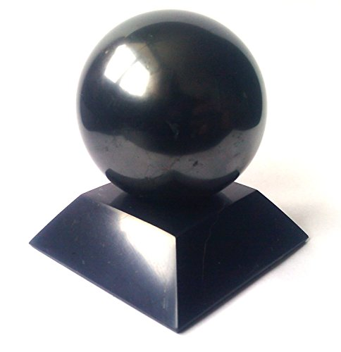 Shungite Stone Sphere Polished (1,2
