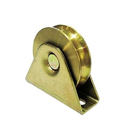 ALEKO U-groove puerta corredera rueda para puertas de garaje correderas 2 1/2