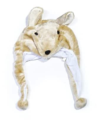 Plush Animal Winter Hat Kangaroo