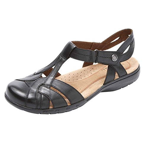Ch Lthr Penfield Tsandal Rockport Women's Shoes Black 5BFqwwa1A