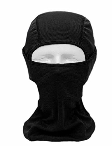 ARRIVE GUIDE Men's Flame Resistant Force Balaclava Hood Headwear Balaclavas Full Face Mask black