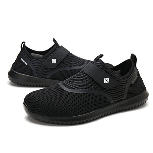 DREAM PAIRS Women's C0210_W Black White Fashion Athletic Water Shoes Sneakers Size 9 M US by DREAM PAIRS (Image #4)
