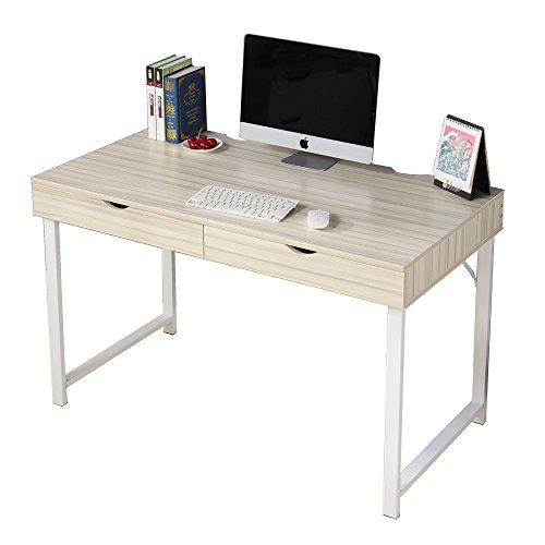 Soges 47u0027u0027 Computer Desk Office Desk With Drawers Workstation Desk For Home  Office Writing