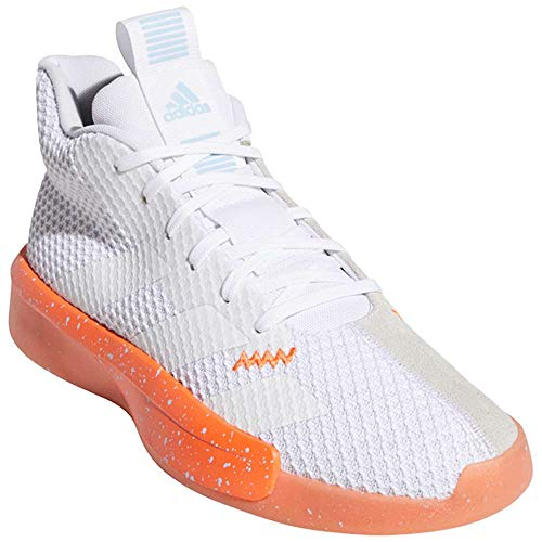 adidas Men's Pro Next 2019 Footwear White/Footwear White/Grey One F17 10.5 D US