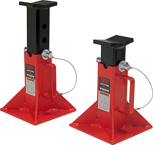 Norco Professional Lifting Equipment 81205i Low Profile 5 Ton Capacity Jack Stands (Imported) (Set of 2)