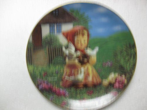 The M.J. Hummel Plate Collection-Gentle Friends Series-Cinderella-Plate#F1950-8