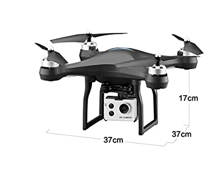 SDGSGSGDF Drone Negro sin GPS Retorno Aire fotografía HD Retorno ...