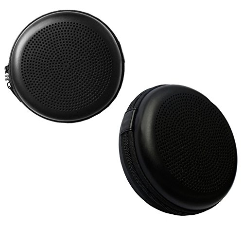 Pushingbest Carrying Case for BeoPlay A1 B&O Play by Bang & OLUFSEN Bluetooth Speaker Hard PU (Black)