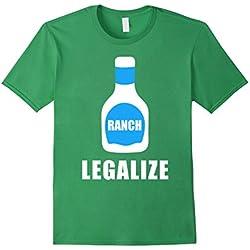 Mens Legalize Ranch T-Shirt Small Grass