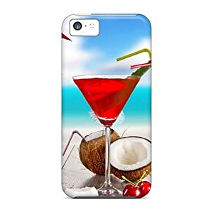 Case Cover Summer Cocktails/ Fashionable Case For Iphone 5c