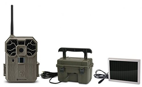Stealth Cam GXW-Wireless Trail Camera With 12VBB & 12VSOL Combo, STC-GX45NGW12V