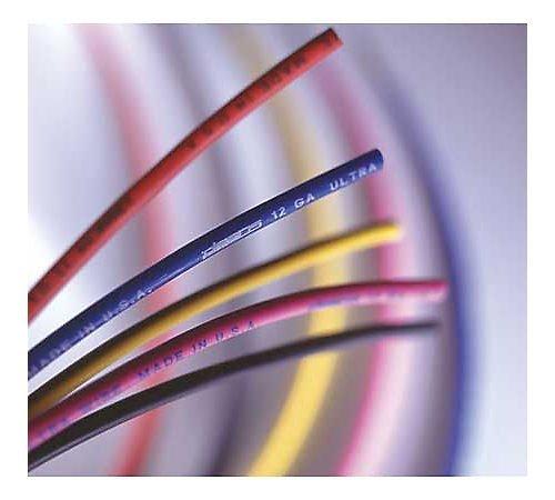 WS Deans Ultra Wire 12 Gauge, 25' Blue WSD1423 by W S Deans (Deans Wire 12 Gauge Ultra)