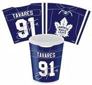 Toronto Maple Leafs John Tavares 1.5oz White Sublimated Shot Glass