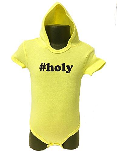 Allure & Grace 154 Hoodie Baby Romper Bodysuit