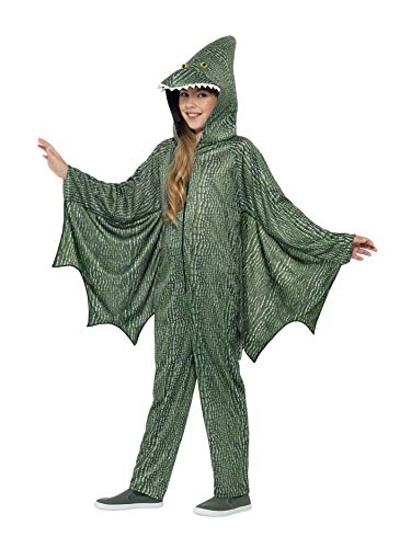 Smiffys Pterodactyl Dinosaur Costume Green